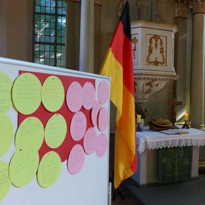 25 Jahre Deutsche Einheit - 25 Minuten Glockenläuten und Gebet