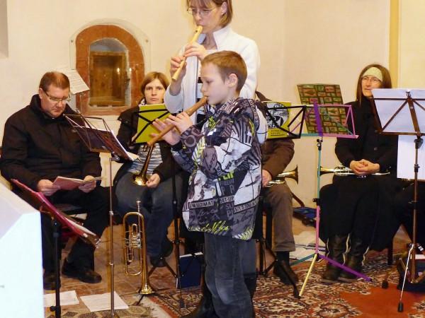 Adventskonzert mit großen Posaunenchor in Gömnigk
