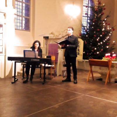 Nu tändas tusen juleljus - Mitsingkonzert in der Lambertuskirche mit dem Bariton Karsten Gebbert