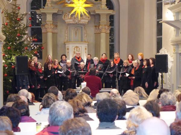 Weihnachtsgospelkonzert in Brück 2015