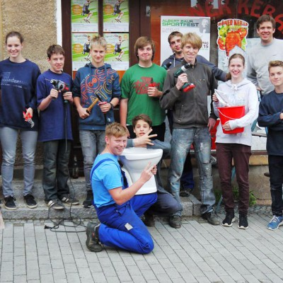 Neue Jugendräume für den CVJM Region Bad Belzig - Die CVJM Mannschaft hat es geschafft
