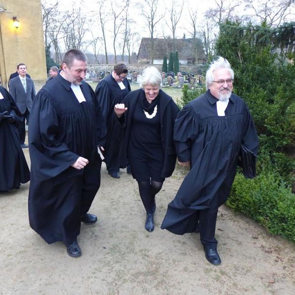 Entpflichtung von Pfarrer Meißner nach 34 Jahren Dienst in Lütte