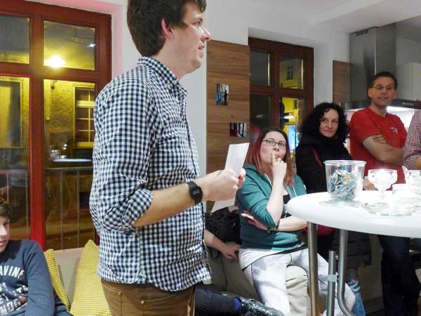 Jugendmitarbeiter Jan Schneider freut sich - Eröffnung der Jugendräume des CVJM Region Bad Belzig