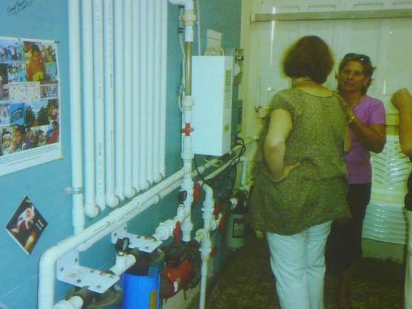 Trinkwasseranlage in Kuba