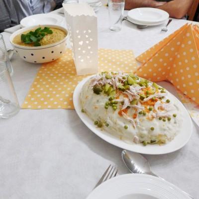 Ausklang des Alphakurses in Brück - 50 Gäste und iranisches Essen