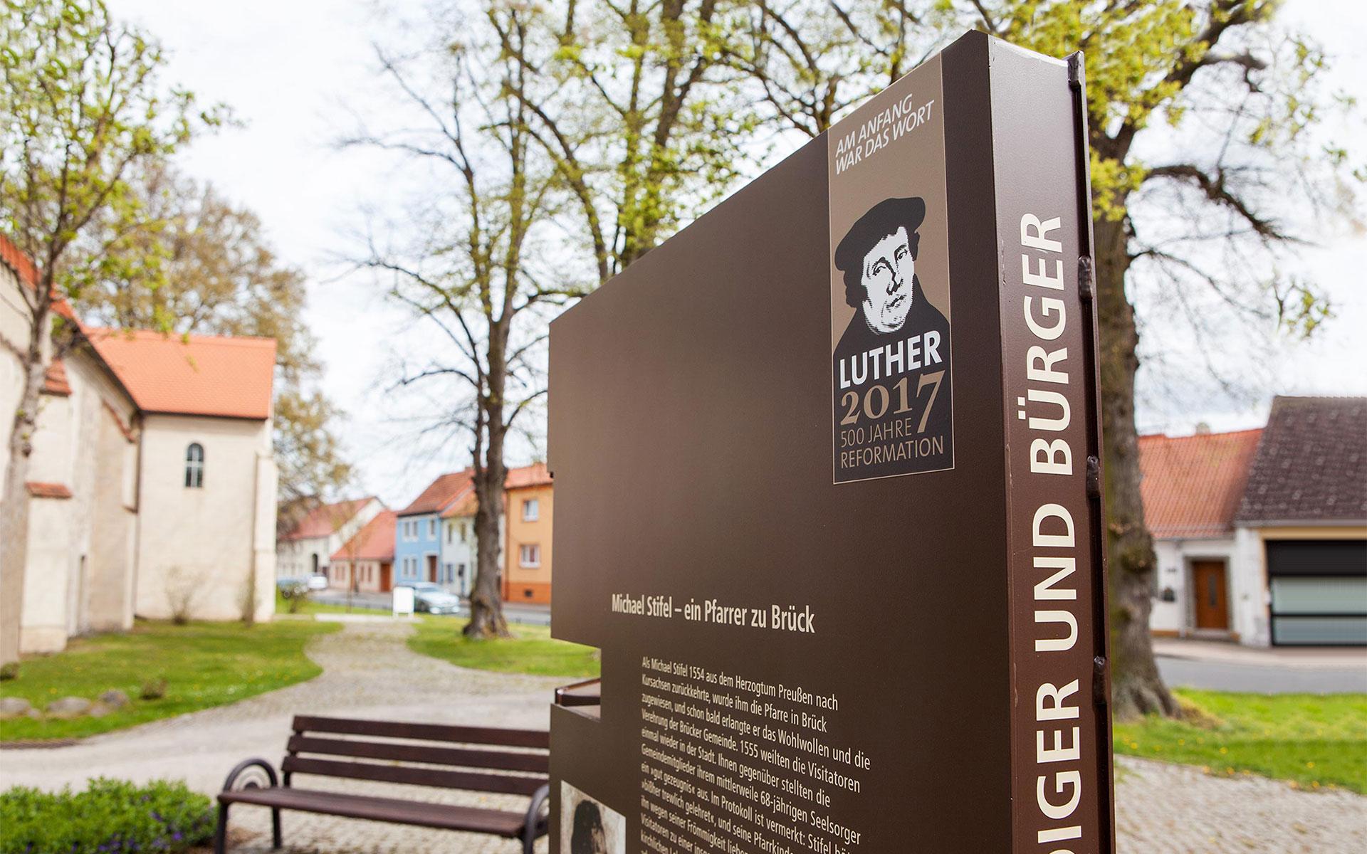 Ausstellung in Brück: Luther 2017 - Prediger und Bürger - Reformation im städtischen Alltag