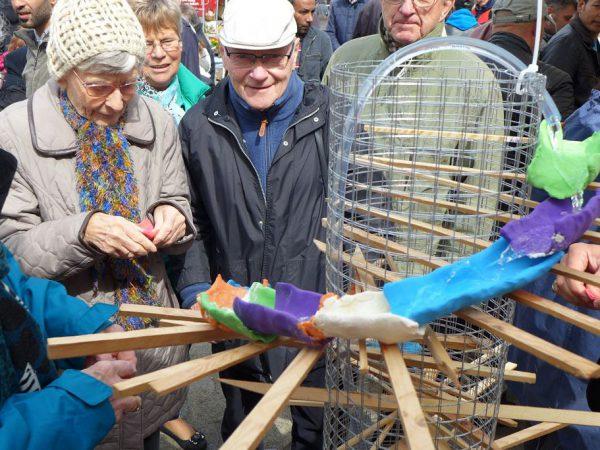 Frühlingsfestes in Brück 2016 - Brunnen der Gemeinschaft
