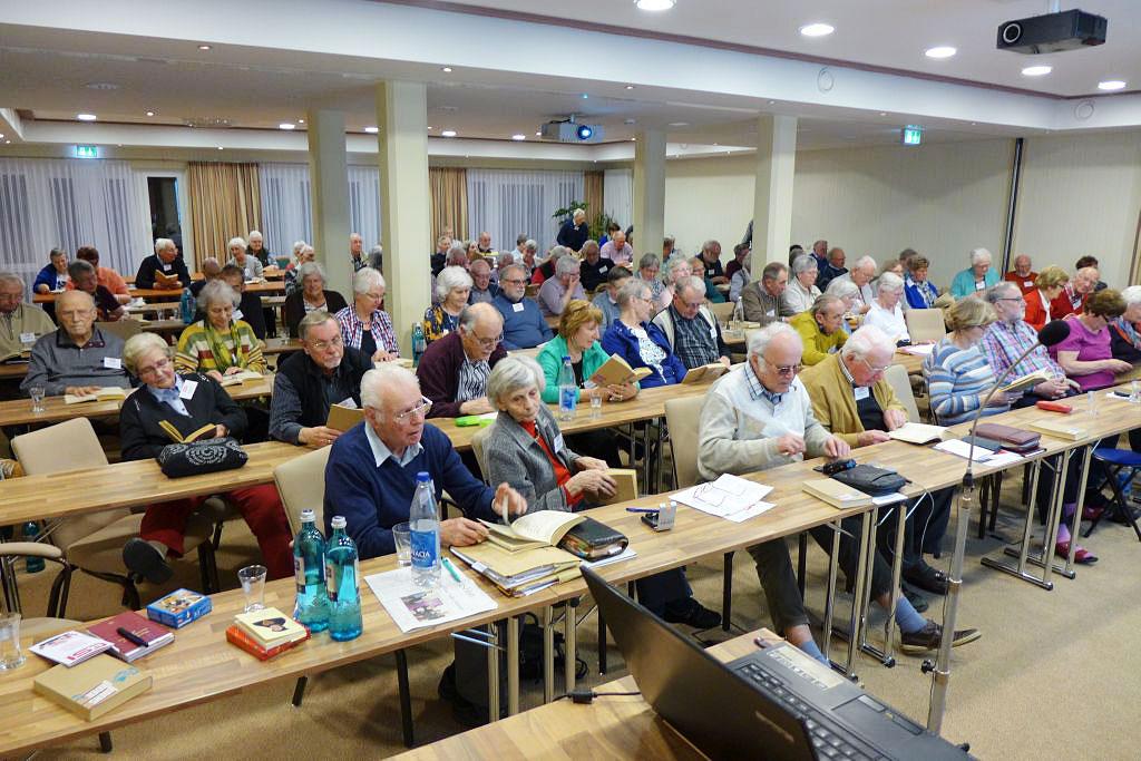 Über 100 Teilnehmer bei Tagung der CVJM Senioren Initiative in Kloster Lehnin