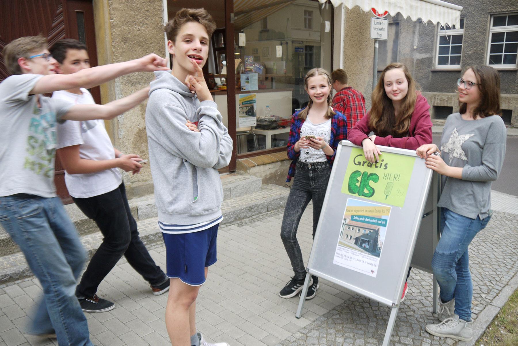 Startaktionen im Jugendladen der CVJM Bad Belzig