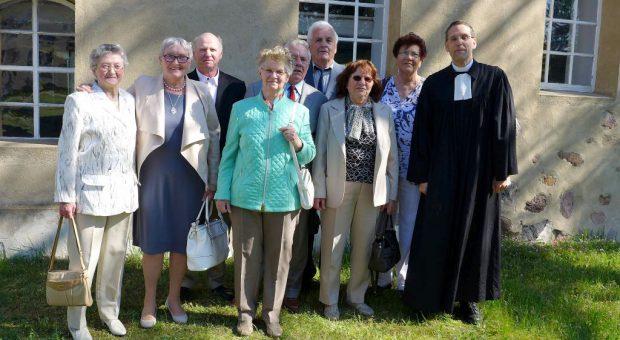 60 Jahre später: Diamantene Konfirmation in Neuendorf bei Brück 2016