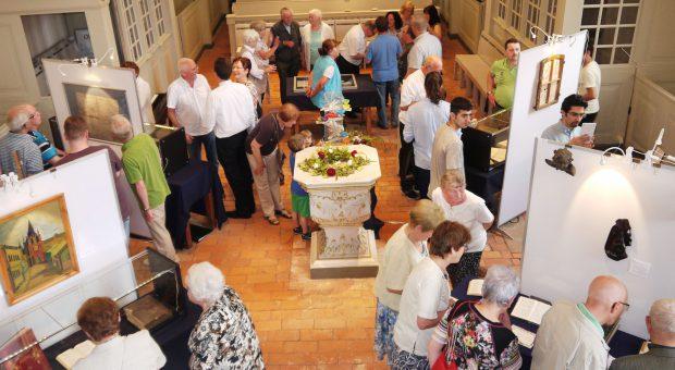 Ausstellung Christliche Kunst in Brück - Gemeindefest 2016