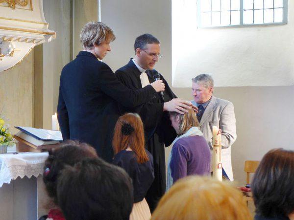 Konfirmation in der Lambertuskirche zu Brück 2016