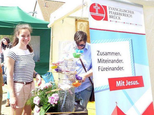 """""""Mut tut gut"""" - Motto des Kreiskirchentags 2016 in Lehnin"""