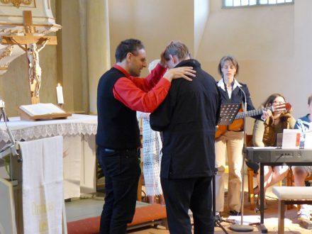 Ökumenischer Pfingstjubel mit Segnung