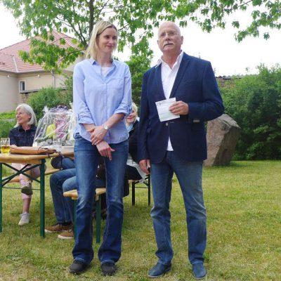 Mit Gottes Segen: Übergabe der Arztpraxis von Frank Hofmann an Nicole Lips