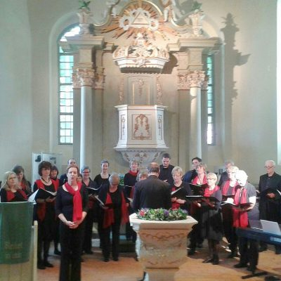 Konzert mit dem Berliner Madrigalchor in der Lambertuskirche Brück