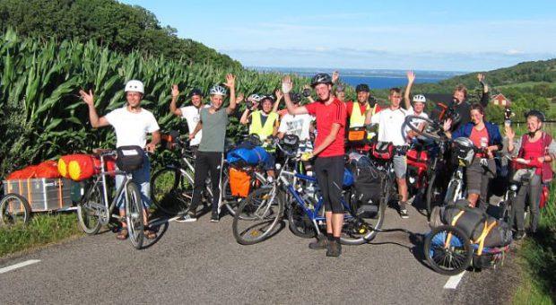 Bergetappe - Schweden-Fahrradtour 2016