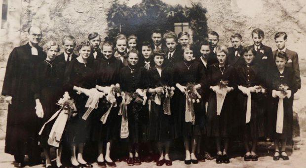 Konfirmation Rottstock 1956