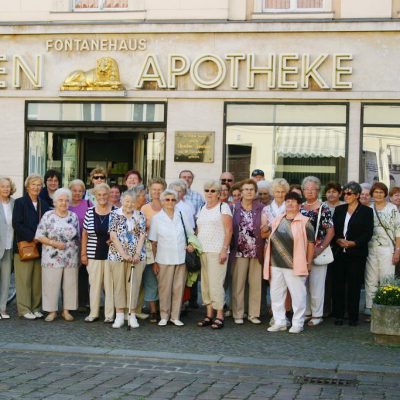 38 Reiselustige erleben Neues beim Gemeindeausflug in Neuruppin