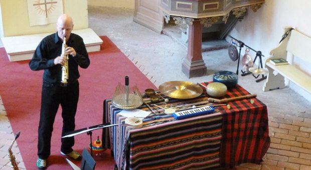 Konzert von Joachim Gies in der Kirche Rottstock