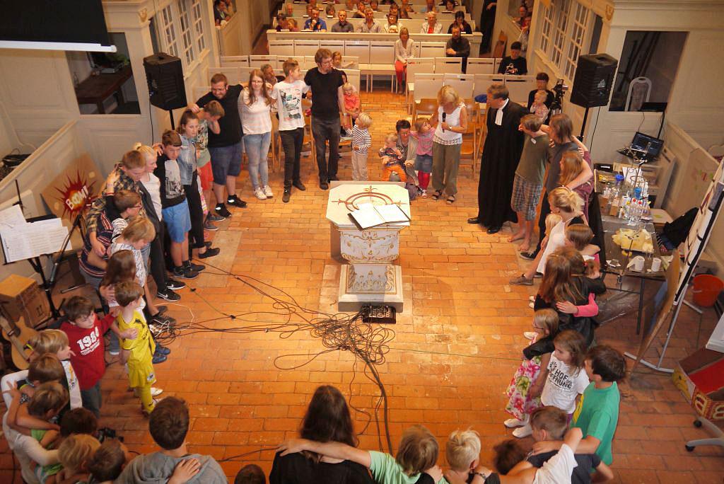 Schulanfangsgottesdienst in Brück