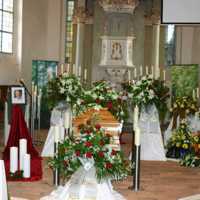 Bürgermeister Karl-Heinz Borgmann unter großer Anteilnahme beigesetzt