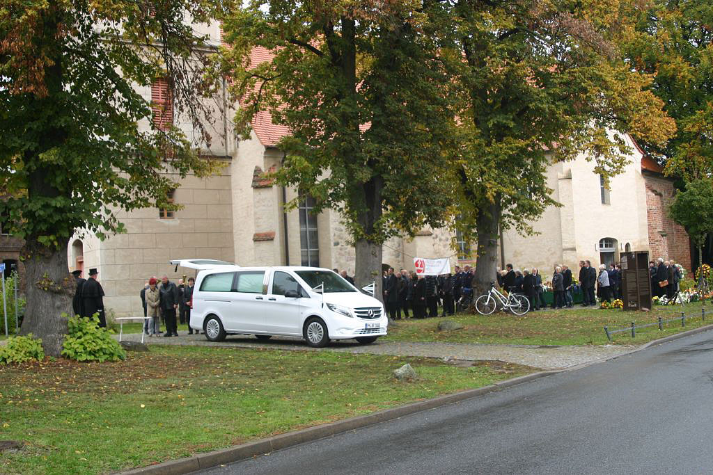Beerdigung Bürgermeister Karl-Heinz Borgmann