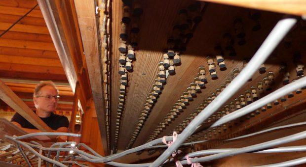 20 % teurer - Orgelsanierung in der Kirche Trebitz