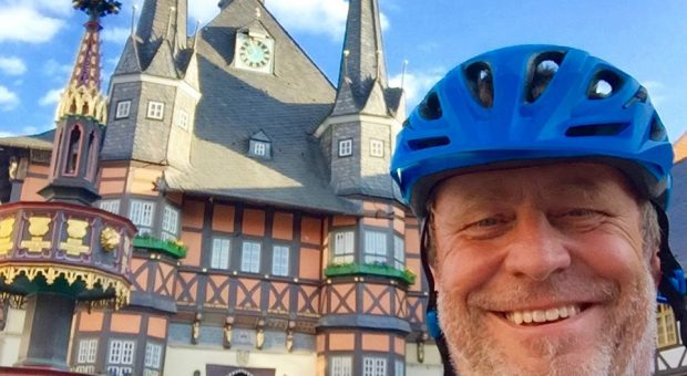 Rainer Marschel - von Bologne sur Mer am Ärmelkanal nach Brück Fläming mit dem Fahrrad auf dem R1.