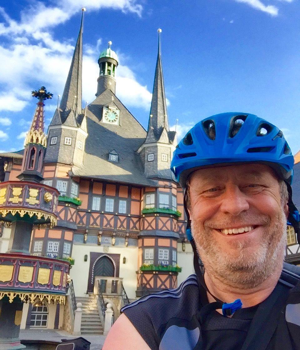 Vom Ärmelkanal nach Brück - Rainer Marschel beim Gemeindenachmittag