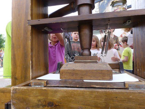 Das Reformationsmobil in Brück