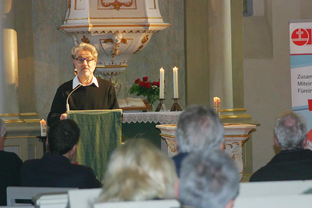 Fontane war in Brück - Jakob Kraze las in der Lambertuskirche