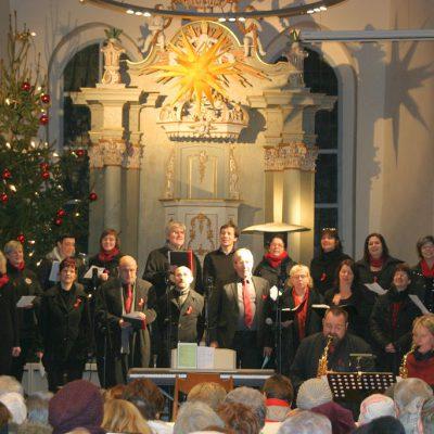 Weihnachtskonzert des Brücker Gospelchores 2016