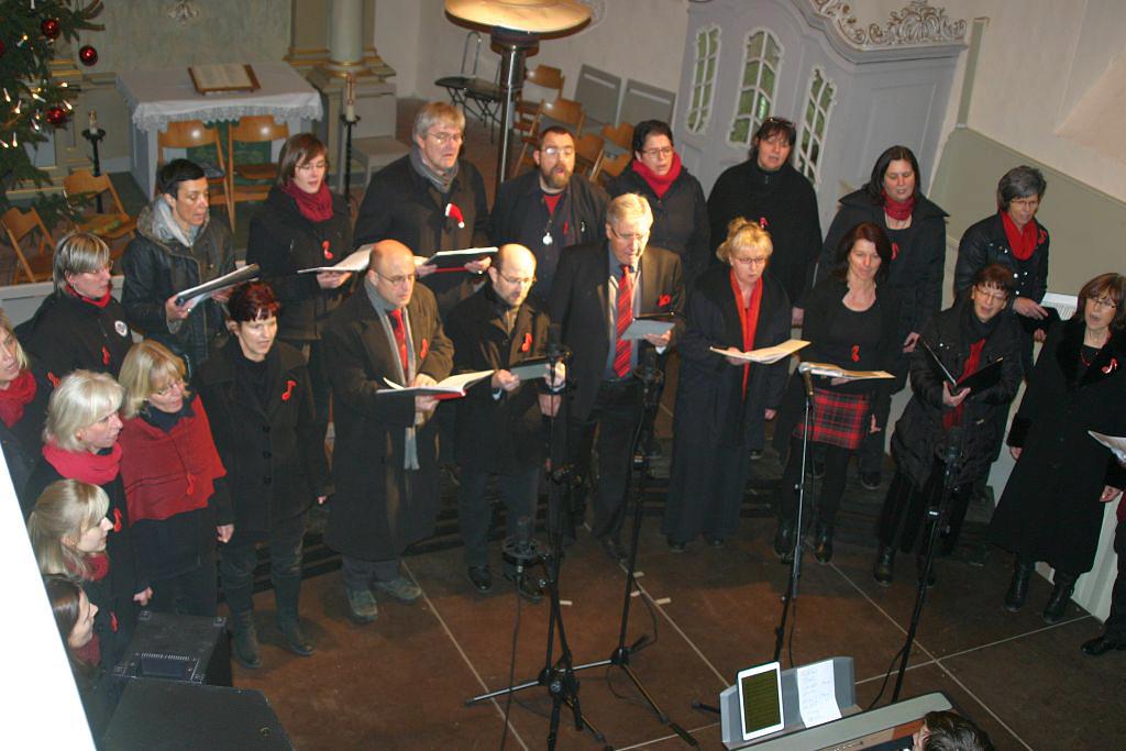 Weihnachtskonzert des Brücker Gospelchores