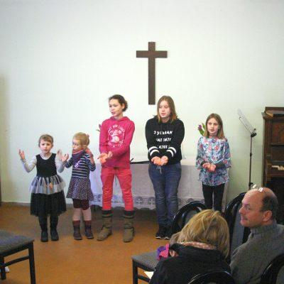 Neuer Kindermusical-Chor begeistert beim Gottesdienst