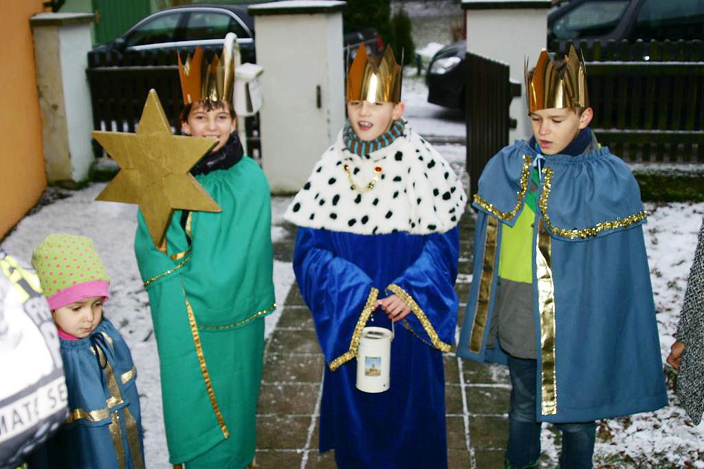 Katholische Sternsinger