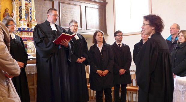 Einführung von Pfarrerin Dr. Dorothea Sitzler-Osing in Fredersdorf für den Pfarrbereich Lütte-Ragösen