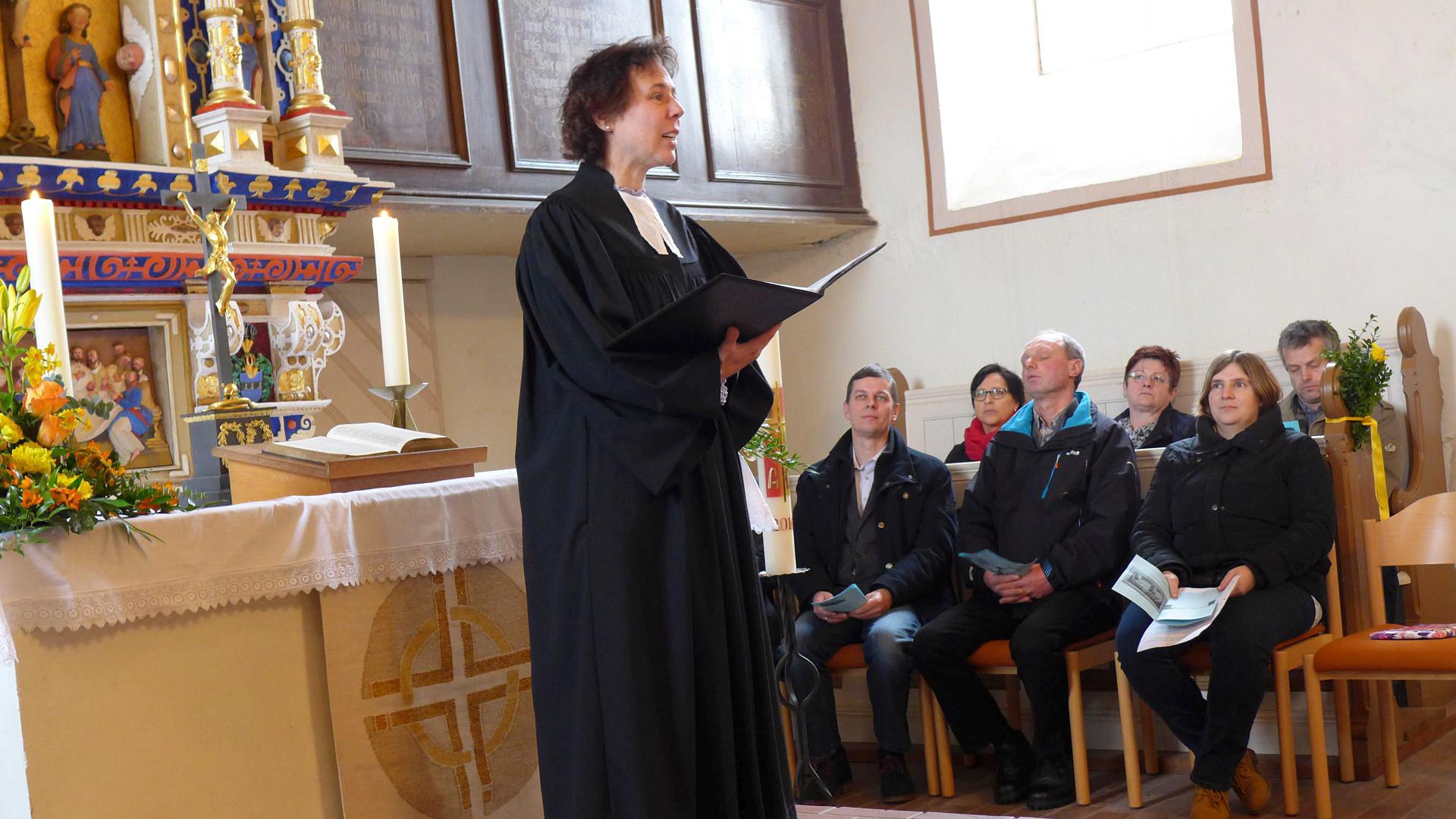 Einführung von Pfarrerin Dr. Dorothea Sitzler-Osing