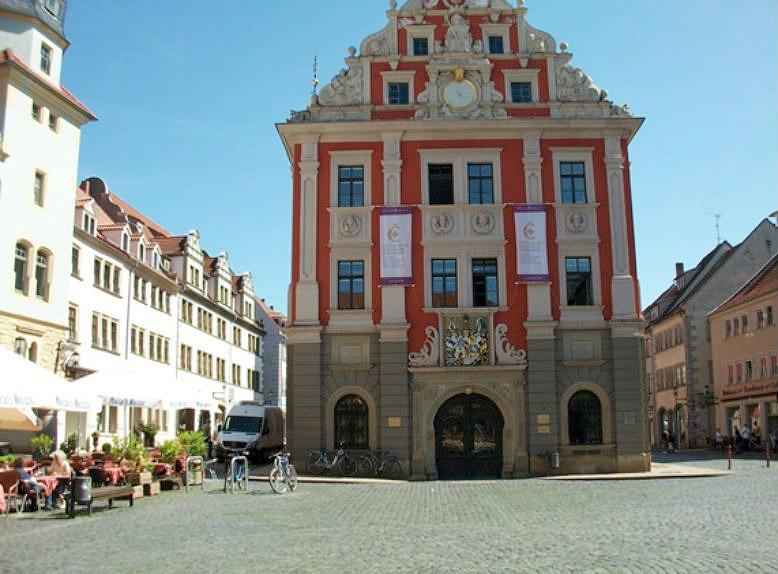 Gotha Hinrichtungsstelle von Christian von Brück, Sohn des Kanzlers