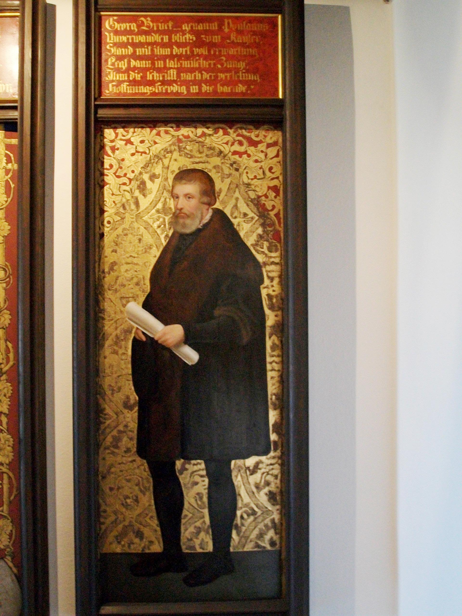 Gregor von Brück auf der Veste Coburg