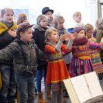 Musicalpremiere Bartimäus: Chor beim Abschlusslied