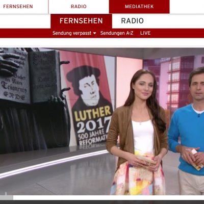 Sendung des rbb: 500 Jahre Reformation - Luther in Brück