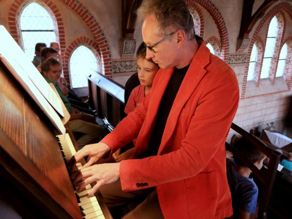 405 Orgelpfeifen und 150 Besucher - Gemeindefest in Trebitz