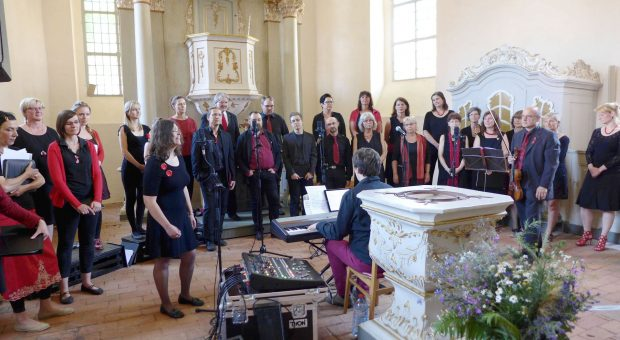 Konzert des Brücker Gospelchores 2017