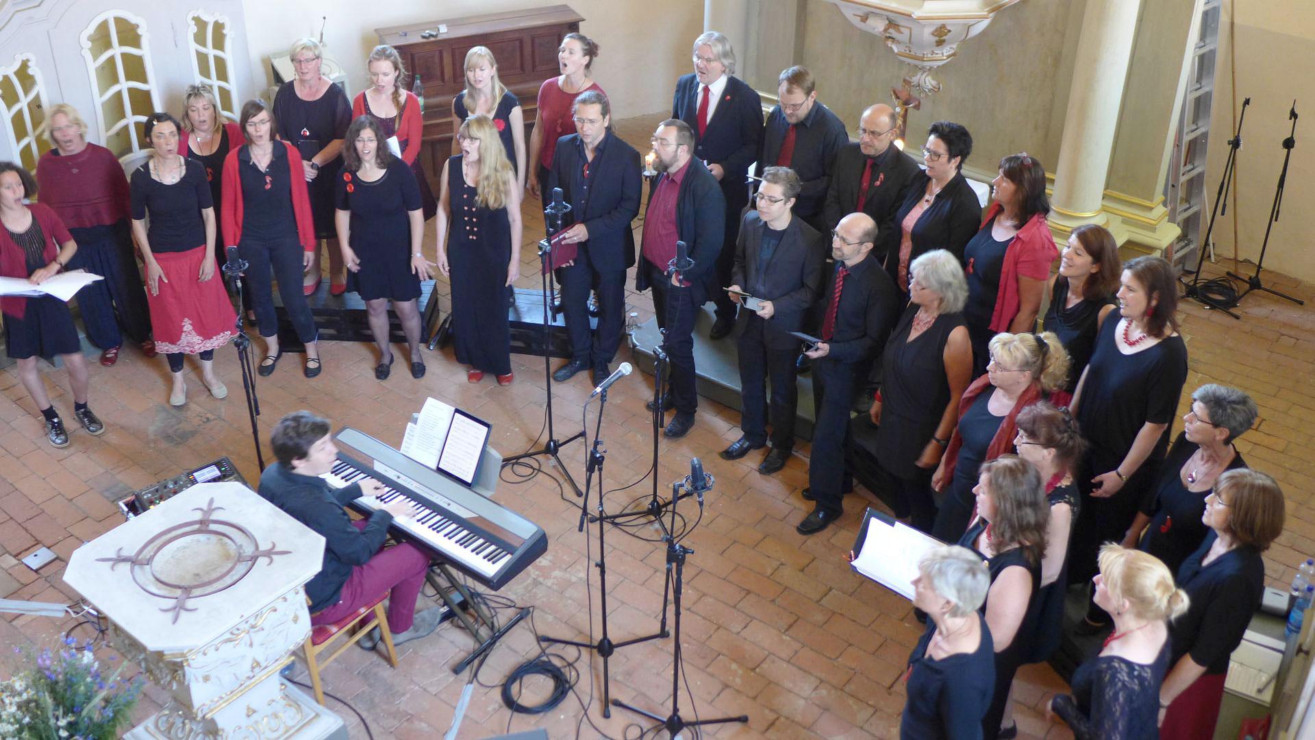 Konzert des Brücker Gospelchores