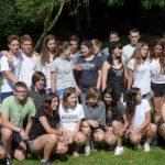 Israelaustauschgruppe komplett mit Bürgermeister Leisegang