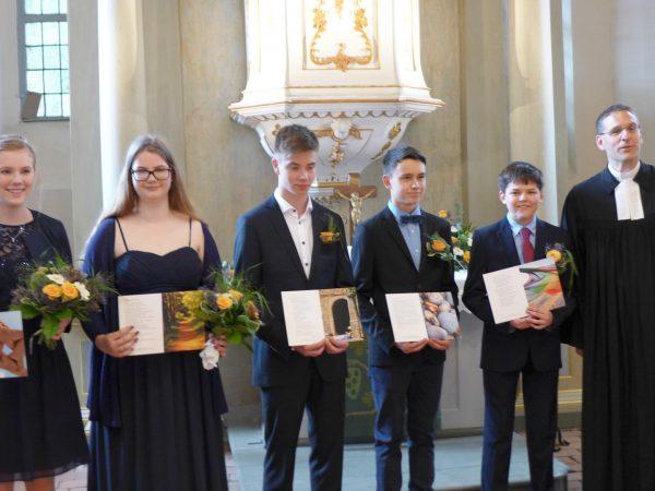 Konfirmationsgottesdienst 2017 in Brück