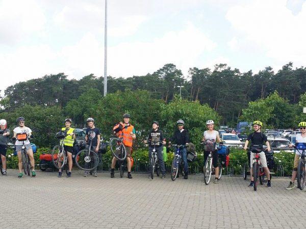Fahrrad-Schwedengruppe 2017