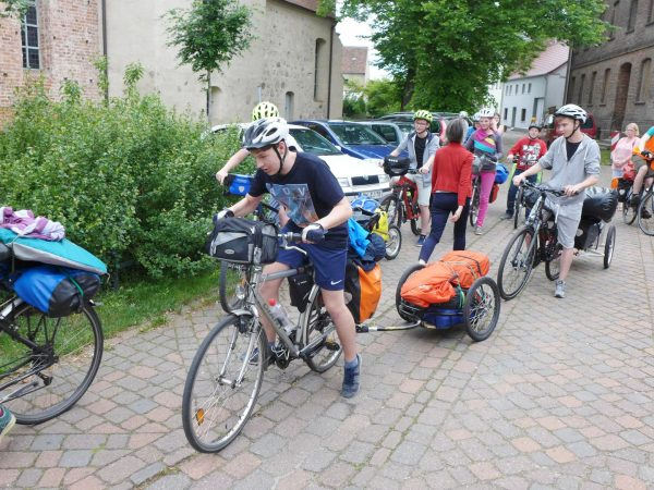 Fahrrad-Testfahrt für Schweden 2017