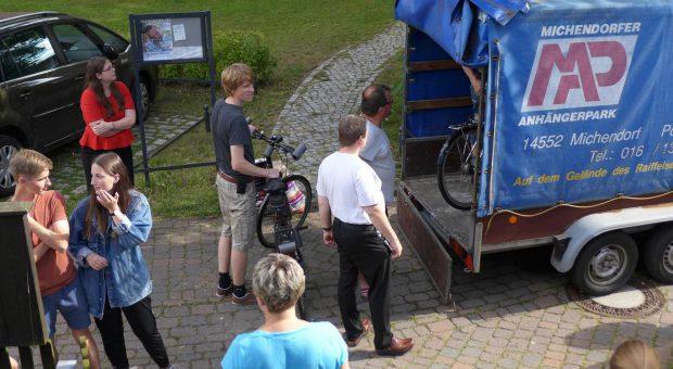 Unterwegs zu neuen Abenteuern - Fahrradfahrt in Schweden